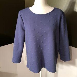 🆕Anthropologie W5 Purple Sweater Size L